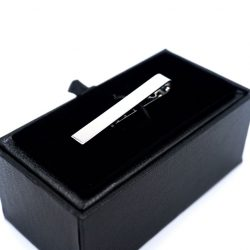 Silver Plated Tie Clip