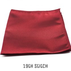 Ruby Red Pocket Square
